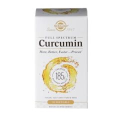 Solgar Full Spectrum Curcumin 185x 30 Softgels