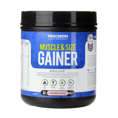 Precision Engineered Muscle & Size Gainer Powder Strawberry 681g