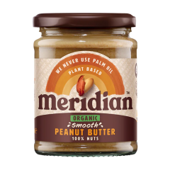Meridian Organic Peanut Butter Smooth 280g