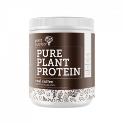 Plant Nutrition Pure Plant Protein Real Coffee 500g