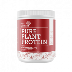 Plant Nutrition Pure Plant Protein Strawberry 500g