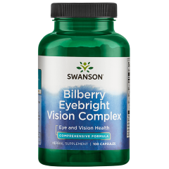 Swanson Bilberry Eyebright Vision Complex 100 Capsules