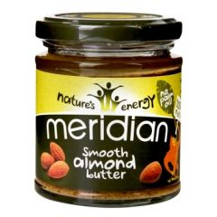 Meridian Nut Butter Smooth Almond Butter 170g BBE: FEB 2021