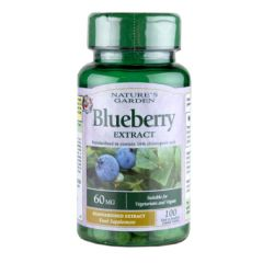 Good n Natural Blueberry Extract 100 Capsules 60mg BBE: DEC 2020