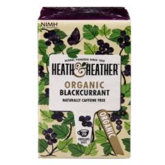 Heath & Heather-Organic Blackcurrant 20 Tea Bags