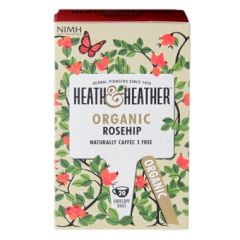 Heath & Heather-Organic Rosehip 20 Tea Bags