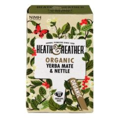 Heath & Heather-Organic Yerba Mate & Nettle 20 Tea Bags