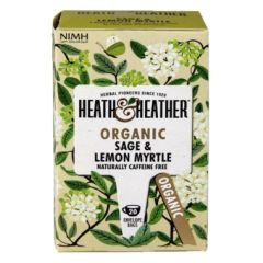 Heath & Heather-Organic Sage & Lemon Myrtle 20 Tea Bags