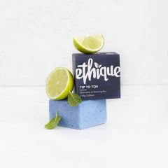Ethique Tip To Toe Shampoo & Shaving Bar 110g