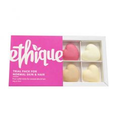 Ethique Hair, Face & Body Trial Pack - Normal Skin & Hair Types