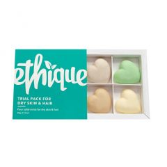 Ethique Hair, Face & Body Trial Pack - Dry Skin & Hair Types  Ethique Hair, Face & Body Trial Pack - Dry Skin & Hair Types