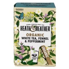 Heath & Heather Organic Peppermint & Fennel 20 Tea Bags