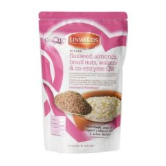 Linwoods Milled Flaxseed, Almonds, Brazil Nuts, Walnuts & Q10 360g BBE: NOV 2020