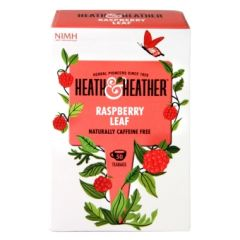 Heath & Heather-Raspberry Leaf 50 Tea Bags
