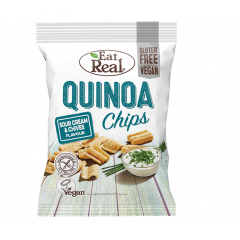 Eat Real Sour Cream & Chives Quinoa Chips 30g BBE: NOV 2020