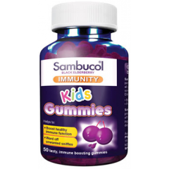 Sambucol Kids Immunity Gummies (AUS Version), 50 gums