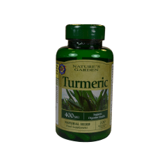 Nature's Garden Turmeric 400mg containing Curcumin 100 Capsules