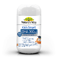 NATURE'S WAY KIDS SMART DHA TRIPLE STRENGTH BURSTLETS 300MG 50S