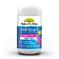 NATURE'S WAY KIDS SMART BURSTLETS OMEGA-3 FISH OIL FRUITY 50S