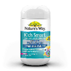 KIDS SMART BURSTLETS COMPLETE MULTIVITAMIN + HIGH DHA FISH OIL 50S
