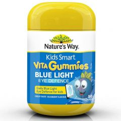 NATURE'S WAY KIDS SMART VITA GUMMIES BLUE LIGHT EYE DEFENCE 50S