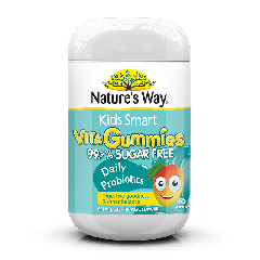 NATURE'S WAY KIDS SMART VITA GUMMIES SUGAR FREE PROBIOTICS 65S