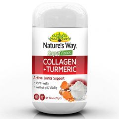 NATURE'S WAY SUPERFOODS COLLAGEN + TURMERIC 60S