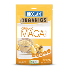BIOGLAN SUPERFOODS ORGANIC MACA POWDER 100G