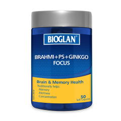 BIOGLAN BRAHMI PLUS FOCUS 50S