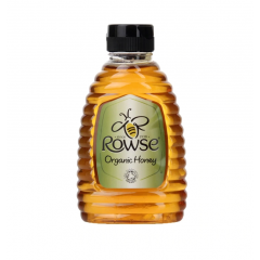Rowse Squeezable Organic Clear Honey 340g BBE: NOV 2020