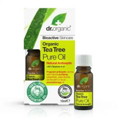 Dr Organic Tea Tree Pure Oil 10ml BBE: JUN 2021
