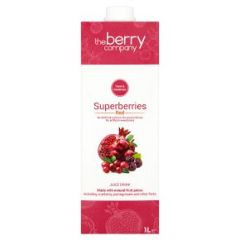 The Berry Company Superberries Red Juice Drink 1L