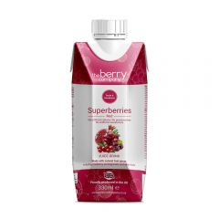 The Berry Company Superberries Red Juice Drink 330ML BBE: July2020