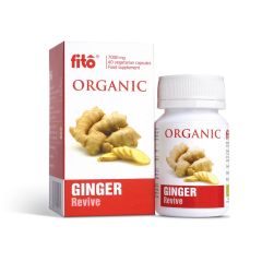 Fito Organic Ginger 7000mg 40 capsules