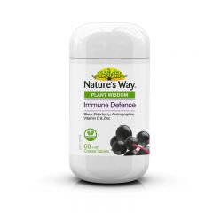 NATURE'S WAY PLANT WISDOM IMMUNE DEFENCE 60S