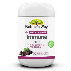 ADULT VITA GUMMIES IMMUNE SUPPORT 99.8% SUGAR FREE BBE: Nov 2021