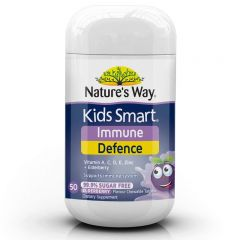 NATURE'S WAY KIDS SMART IMMUNITY DEFENCE 50S BBE: Oct 2021