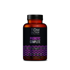 TOM OLIVER NUTRITION Probiotic Complete (60 Capsules) BBE: APR 2021