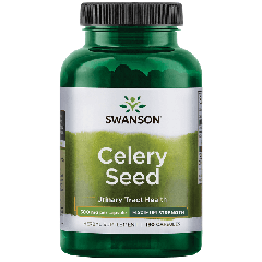 Swanson Celery Seed Max Strength 500 Mg 180 Caps