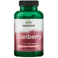 swanson cranberry 20:1 concentrate 180 sgels BBE: JUL 2021
