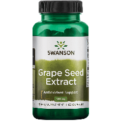 Swanson Herb Grape Seed Extract 100 Mg 60 Caps