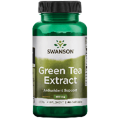 Swanson Super Herb Green Tea Extract 500mg 60 Caps