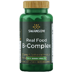 Swanson Ultra Real Food B-complex 60 Veg Caps