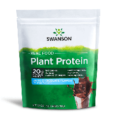 Swanson Ultra Real Food Plant Protein - Dark Chocolate Flavor 740G