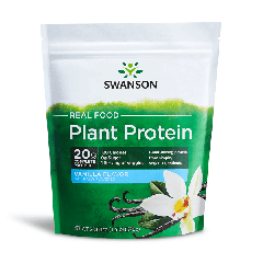 Swanson Ultra Real Food Plant Protein - Vanilla Flavor 670G