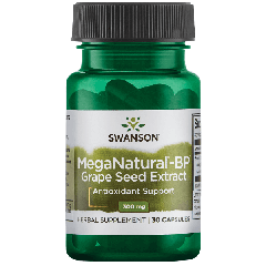 Swanson Ultra Meganatural-bp Grape Seed Extract 300 Mg 30 Caps