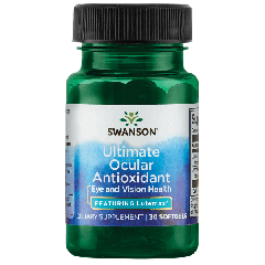 Swanson Ultra Ultimate Ocular Antioxidant - Featuring Lutemax 30 Softgels