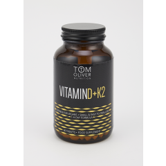 Tom Oliver Nutrition Vitamin D+K2