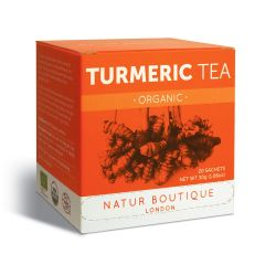 Natur Boutique London Organic Turmeric 20 Sachets